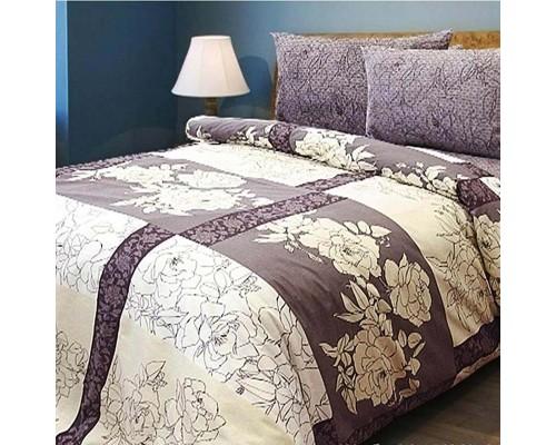 Двуспальное постельное белье бязь Kombo Beige