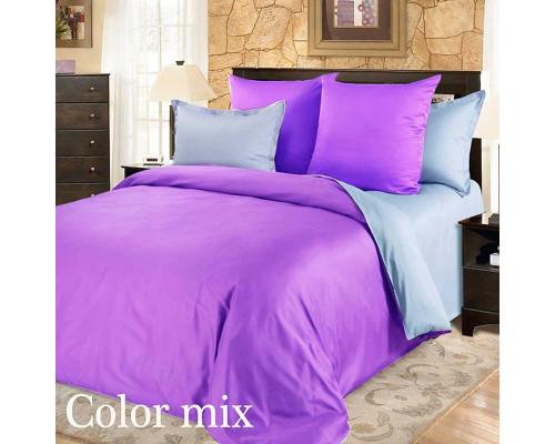 Постільна білизна сімейна двох кольорів ранфорс Color Mix Montere