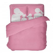 Что входит в комплект семейного постельного белья