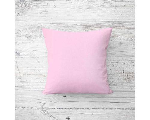 Подушка лебяжий пух Поли Pink