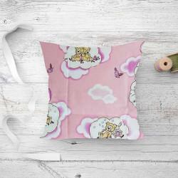 Подушка дитяча лебединий пух Ведмедики Pink
