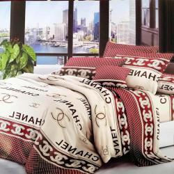 Комплект постельного белья полиэстер Chanel