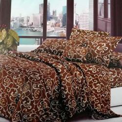 Комплект постельного белья полиэстер Venzel-Dark-d