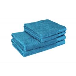 Полотенце банное махровое 70x140 бирюзовое tl 400