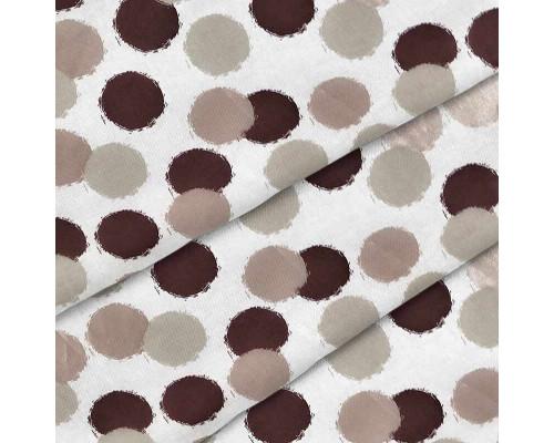 Тканина для постільної білизни ранфорс-сатин 7229