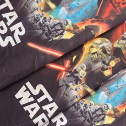 Тканина для постільної білизни дитяча ранфорс Зоряні війни 4401