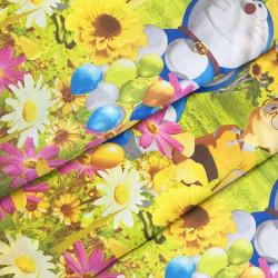 Ткань для постельного белья детская ранфорс Бу-Бу 4425