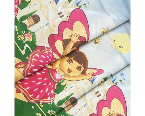 Ткань для постельного белья детская ранфорс Дора 4456