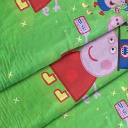 Ткань для постельного белья детская ранфорс  Пепа 2246