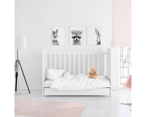 Детское постельное белье в кроватку сатин 1883