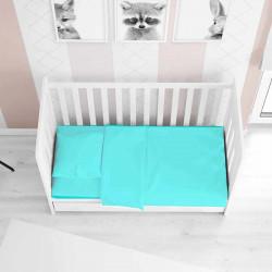 Детское постельное белье в кроватку сатин 2019