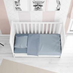 Детское постельное белье в кроватку сатин 2071