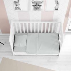 Детское постельное белье в кроватку сатин 0502