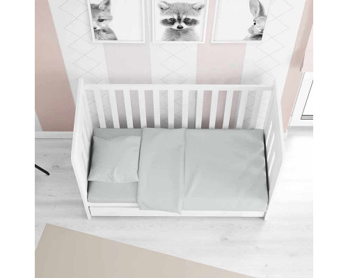 Дитяча постільна білизна в ліжечко сатин 0502