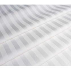 Тканина для постільної білизни однотонна страйп сатин 2 см 3007