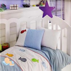 Дитяча постільна білизна в ліжечко Akvarium