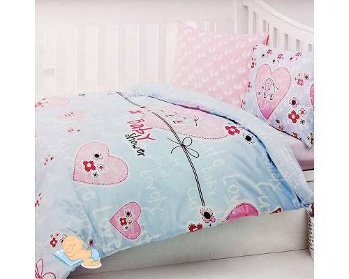 Детское постельное бельё в кроватку Logy