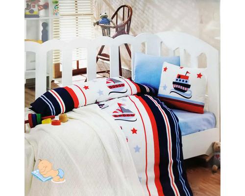 Дитяча постільна білизна в ліжечко Denizic Ковдра