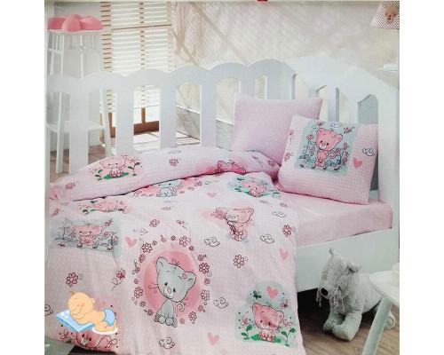 Дитяча постільна білизна в ліжечко Pembe