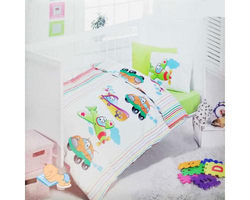 Детское постельное бельё в кроватку Yesil