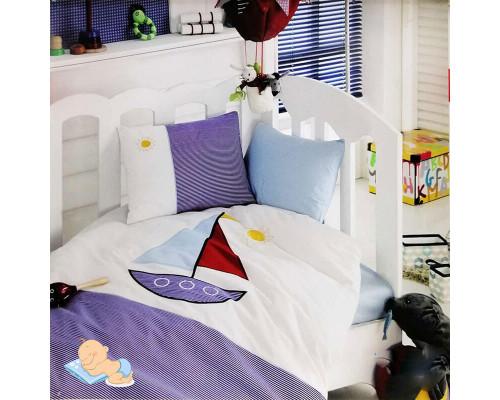 Детское постельное бельё в кроватку Yelkenli-mavi