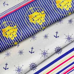 Ткань для постельного белья бязь More Me 4180