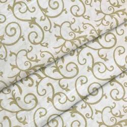 Ткань для постельного белья бязь Вензель штрих 2079