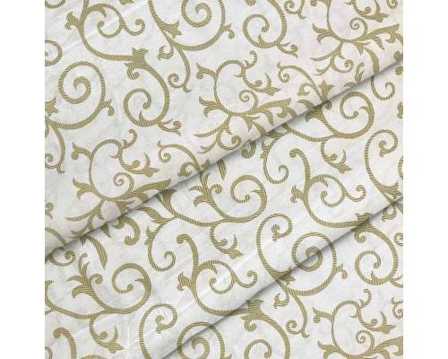 Тканина для постільної білизни бязь Вензель штрих 2079