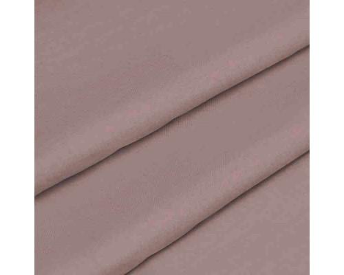 Ткань для постельного белья однотонная бязь светло-коричневая 2482