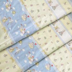 Ткань для детского постельного белья бязь Буслик 2925
