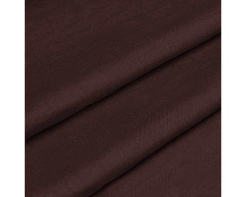 Тканина для постільної білизни однотонна бязь шоколадна 5964