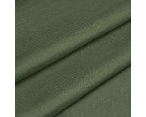 Тканина для постільної білизни однотонна бязь хакі 5971