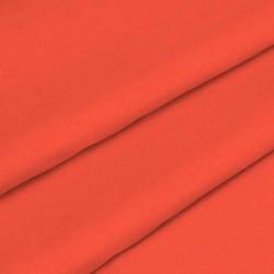 Ткань для постельного белья однотонная бязь оранжевая 5988