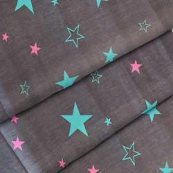 Ткань для постельного белья бязь 7351 grey 7081