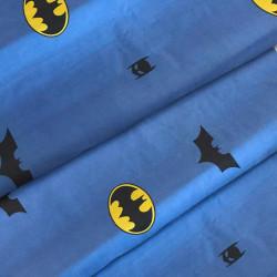Тканина для дитячої постільної білизни бязь Бетмен 7159