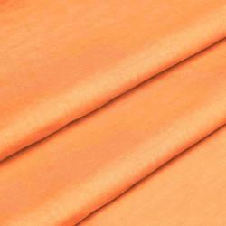 Тканина для постільної білизни однотонна бязь помаранчева 1773