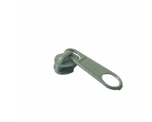 Бігунок тип 3 метал на блискавку спіральну 0645
